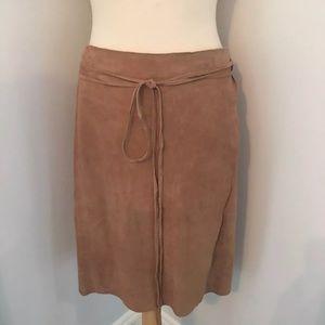 Ralph Lauren sport suede skirt. NWT. Wrap. Medium